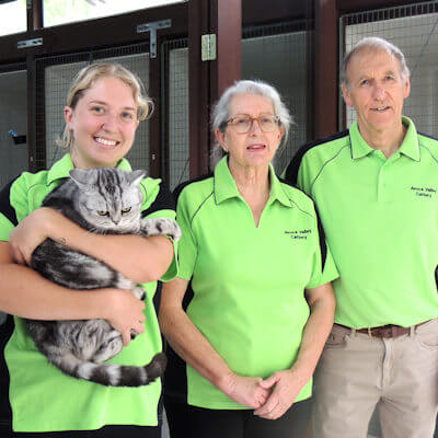 Avoca Valley Cattery team